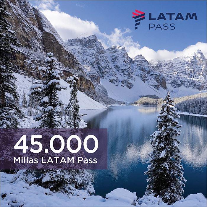 Imagen de 45.000 millas LATAM Pass