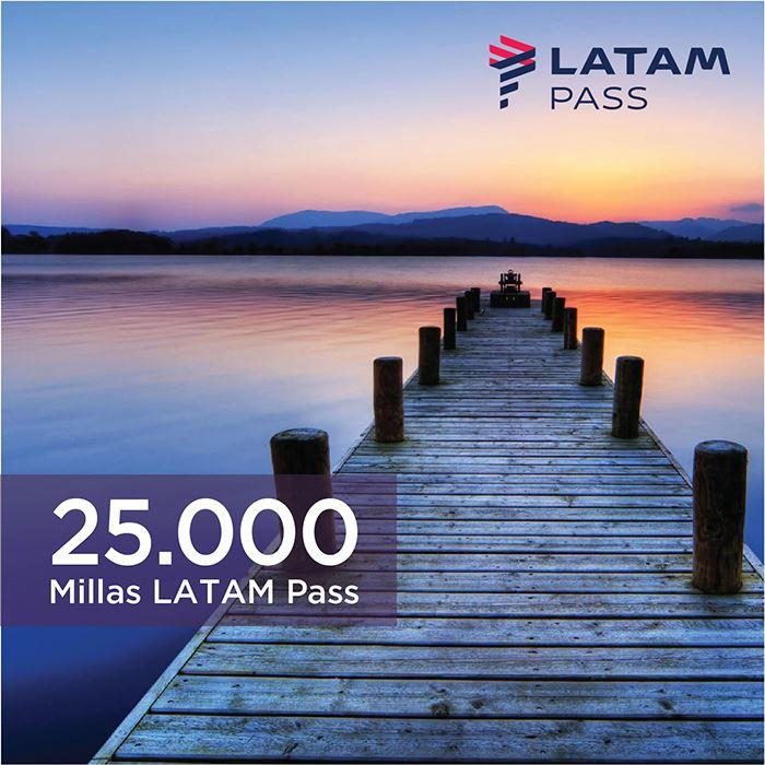Imagen de 25.000 millas LATAM Pass