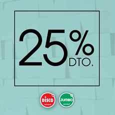 Imagen de 25% de descuento
